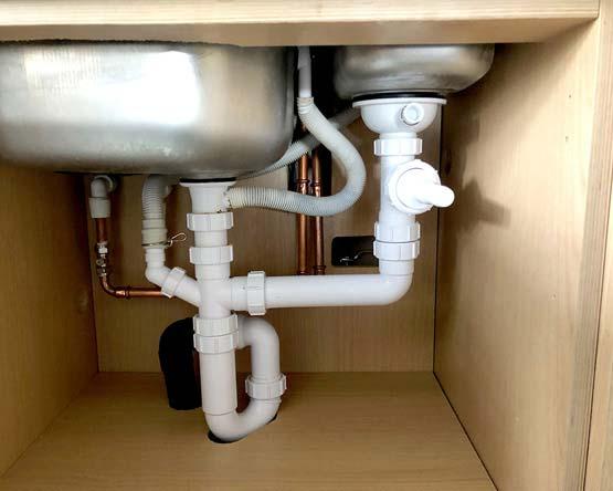 Under Sink Plumbing