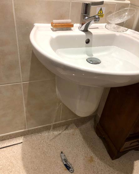 Sink Leak to be Fixed By Headingley Plumber