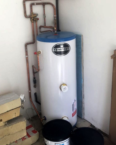 Hot Water Cylinder Checked for Safety in Leeds