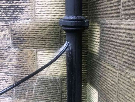 High Pressure Drainpipe Jetting